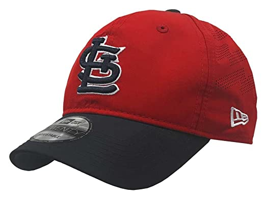 new product 3923a 2aa3c Image Unavailable. Image not available for. Color  New Era MLB St. Louis  Cardinals Batting Practice Baseball Hat 9Twenty Cap