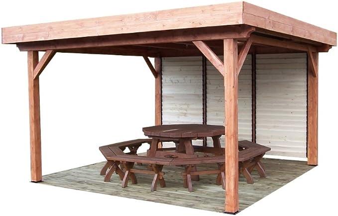 habrita – habrita – Toldo ombra tejado plano con ventelles móvil ...