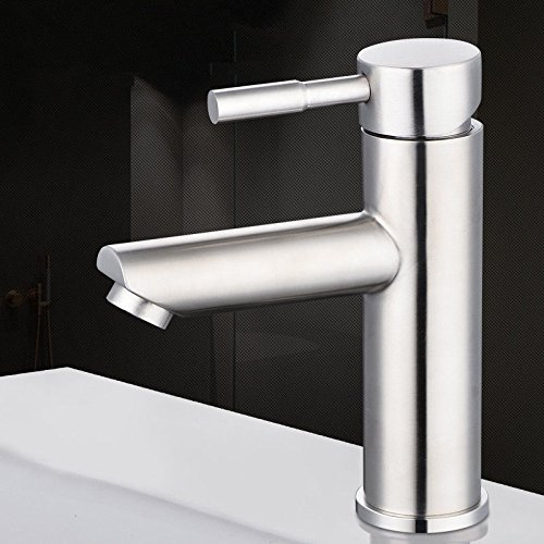 Lalaky Taps Faucet Kitchen Mixer Sink Waterfall Bathroom Mixer Basin Mixer Tap for Kitchen Bathroom and Washroom Stainless Steel Single Cold and Hot