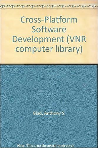 Cross-Platform Software Development (VNR computer library): Anthony