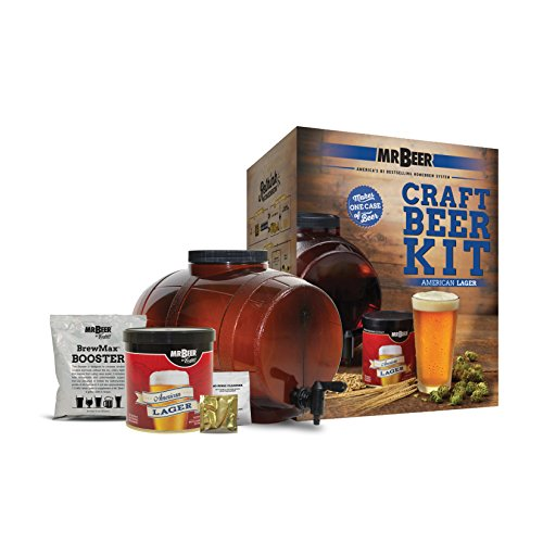 Mr. Beer American Lager Craft Beer Making Kit by Mr. Beer