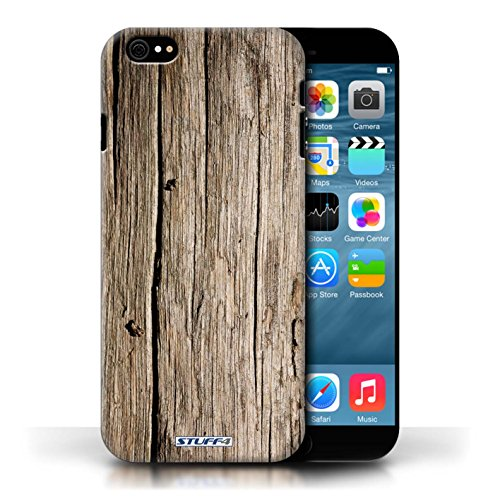 Hülle Case für Apple iPhone 6/6S / Treibholz Entwurf / Holz/Holzmaserung Muster Collection