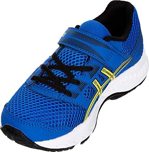 ASICS Gel Contend 5 PS Kid's Running Shoe, Illusion Blue/Lemon Spark, 3 M US Little Kid by ASICS (Image #3)