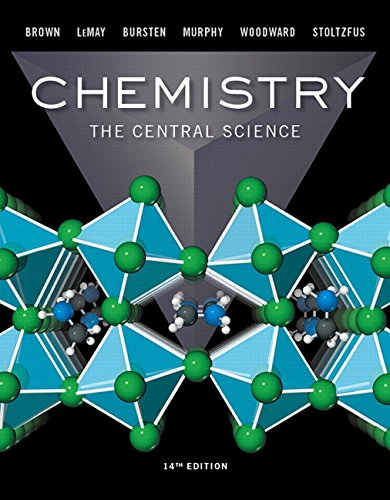 Chemistry: The Central Science (14th Edition) (9780134414232)