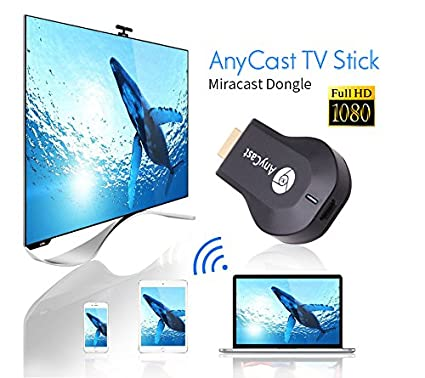 Link+ HDMI TV Stick, Link+Any-Cast 1080P Wifi Wireless Mini Display  Receiver Dongle DLNA Airplay For IOS, Android & Windows