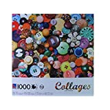 Collages: Lisa Fondo: Button, Button 1000 Piece Puzzle by Sure-Lox