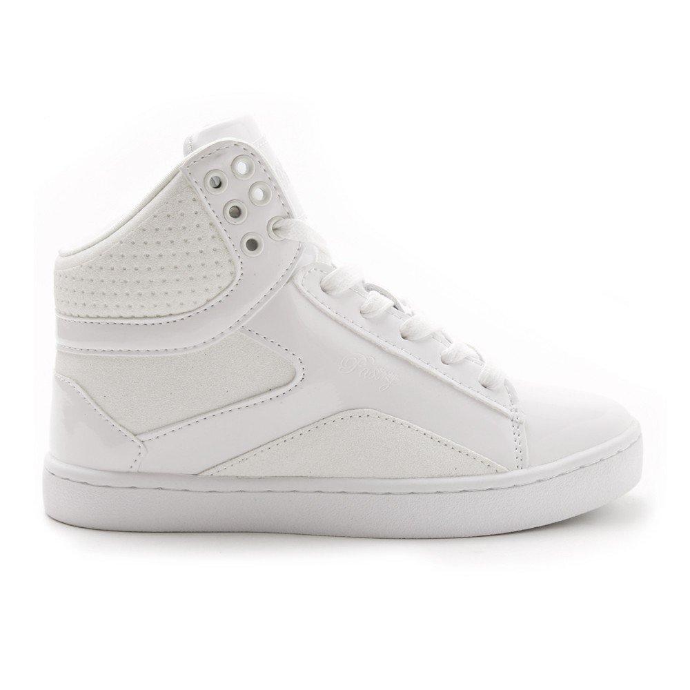 Pastry Pop & Tart Glitter High-Top Sneaker & Pop Dance Shoe for Kids B012BU3NPK Size 11|White e9cefc