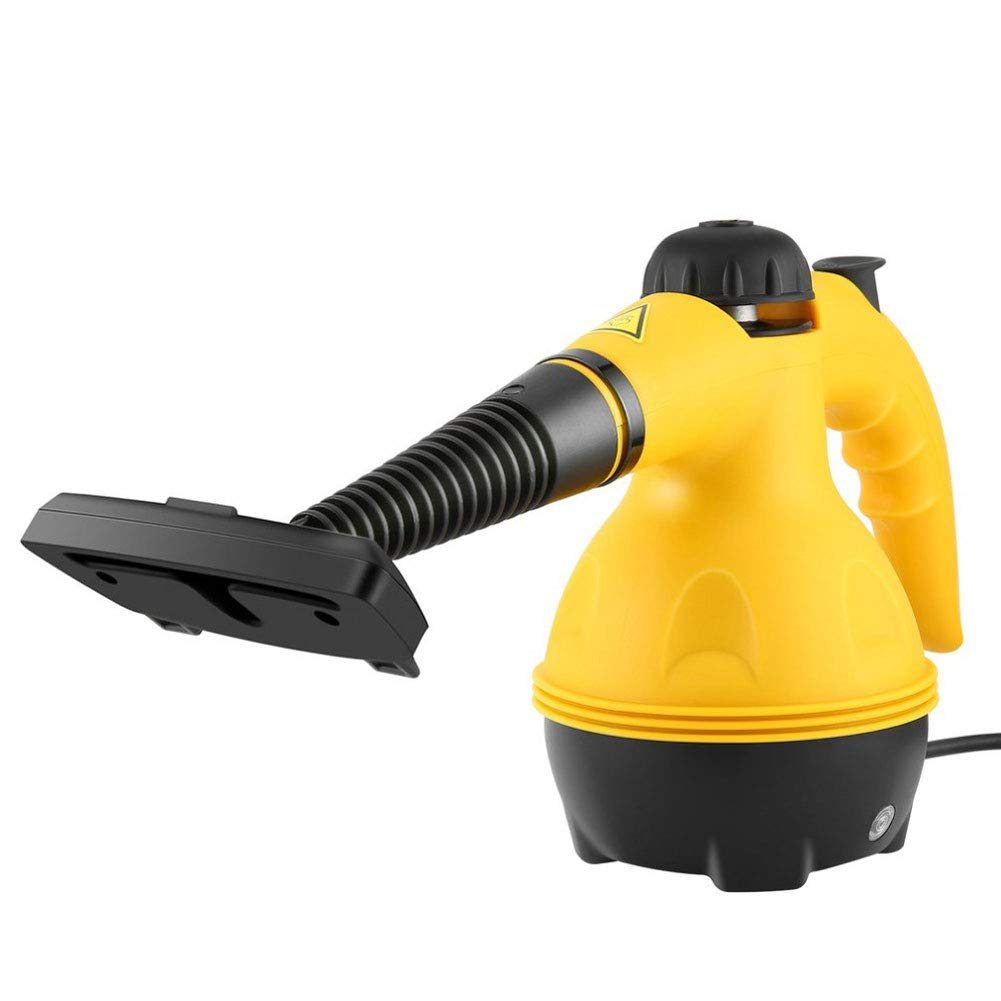 Q&Z Multi-Purpose Pressurized Steam Cleaner Handheld Steam Mop with 9 Attachments Chemical-Free Steam Cleaning for Stain Removal Windows Carpets Floor Car