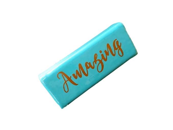 Amazon.com: Brillante Lipstick Caso & Espejo con oro ...