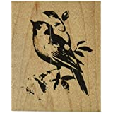 Stampendous Mounted Rubber Stamp V-Lone Bird