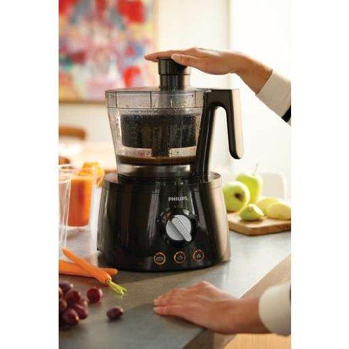 Philips HR7777 - Procesador de alimentos (Negro, 50/60 Hz, 220-240 V, ABS sintéticos): Amazon.es: Hogar