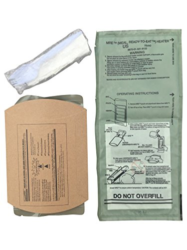 ACM Military MRE Complete Meal Kit with Utensil and Flameless Ration Heater (Chili Macaroni) (Chili Macaroni Mre compare prices)
