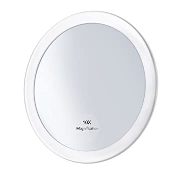 Amazoncom Frcolor 10x Magnifying Mirror With 3 Suction Cups
