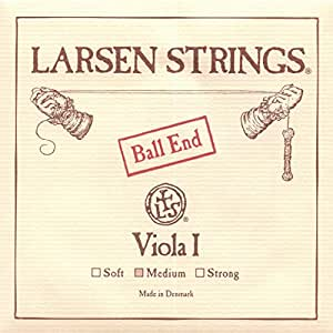 "Larsen up to 16.5"" Viola A String Medium Aluminum/Steel Ball-End"