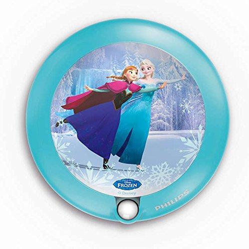 Philips Disney Frozen (Die Eiskönigin) LED Nachtlicht, hellblau, 717650816 915004568101 717650816_