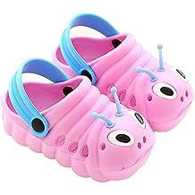 DADAZE Infant Boys Girls Summer Clogs Mules Closed Toe Sandals Slippers for Garden Beach Pool Shower