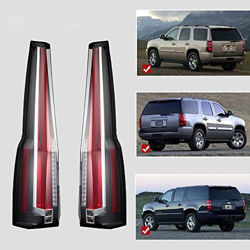 (Vland LED Tail Lights For Chevy Chevrolet Suburban Tahoe GMC Yukon Denali 2007-2014