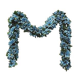 Wedding Flowers 5' MP Daisy Chain Garland Artificial Silk Home Party Arch Decor 49