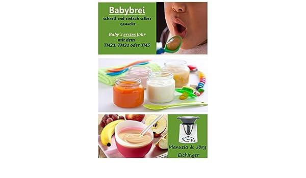 Thermomix libro de cocina de bebé brei rápido Usted Mismo.: Amazon.es: Bebé