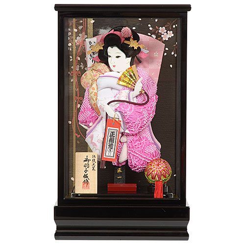 No.708-45 羽子板 ケース 8号 春彩(しゅんさい) ミニサイズ B076J8M1N5