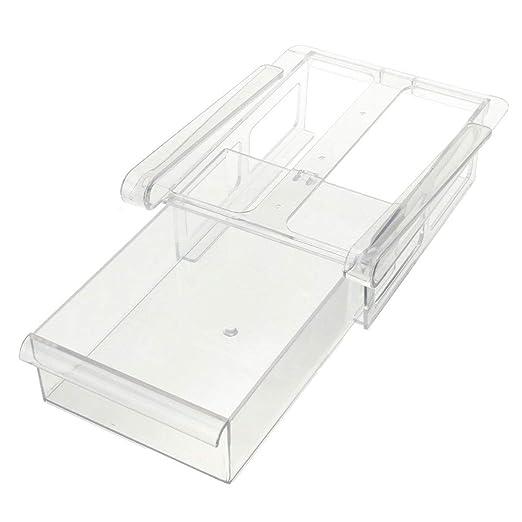 Organizador de almacenamiento de plástico para cajón de nevera o ...