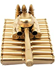 Treasure Gurus Bullet Shell Casing Shaped Army Tank