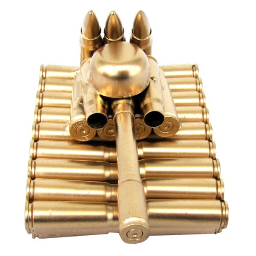 Bullet Shell Casing Shaped Army Tank (Army Office)
