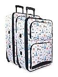 Ever Moda Paris 2-Piece Luggage Set