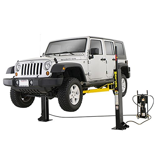 Dannmar MaxJax Portable 6,000-lbs. capacity Portable 2-Post Lift