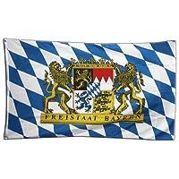 Flaggenking Freistaat Bayern Flagge/Fahne, mehrfarbig, 150 x 90 x 1 cm, 16991