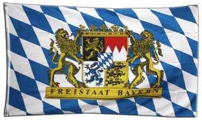 Flagge Deutschland Bayern Freistaat - 60 x 90 cm