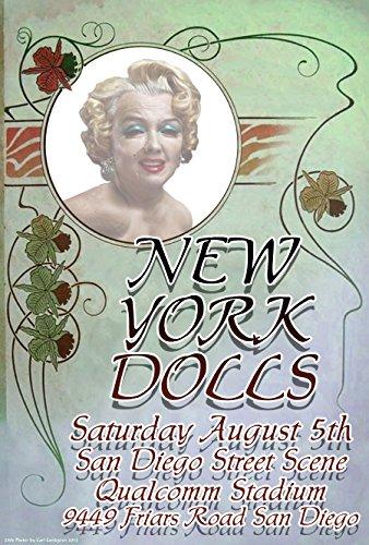 New York Dolls, Qualcomm Stadium, San Diego, Concert Poster 13