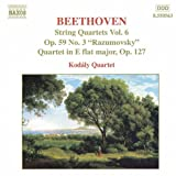 3 59 - Beethoven: String Quartets Op. 59, No. 3, 'Rasumovsky' And Op. 127