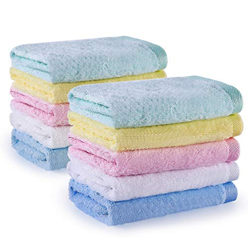 YOOFOSS Washcloths Bathroom Hotel Spa Kitchen Multi Purpose Absorbent product image