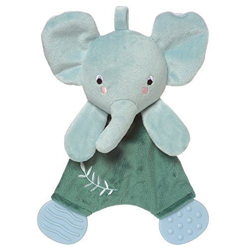 Manhattan Toy Safari Elephant Baby Lovie Snuggle Toy and Teether