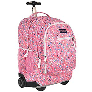 JanSport Driver 8 Rolling Backpack- Sale Colors (Confetti)
