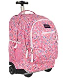 large backpack with wheels - JanSport Driver 8 Rolling Backpack- Sale Colors (Confetti)