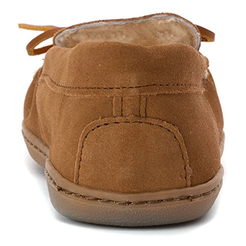 Tan Golden Hardsole Minnetonka Moccasins Women's 3341 Sheepskin HFx6Tg