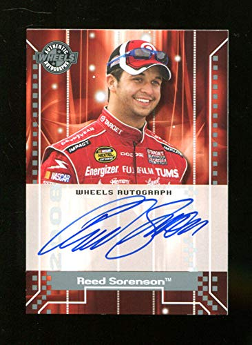 - Reed Sorenson 2007 Press Pass Wheels Auto Signed Mint 22295