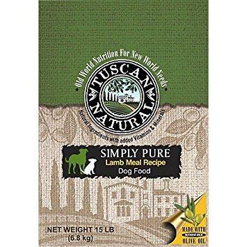 Tuscan Natural Simply Pure Lamb Dry Dog Food 15lb