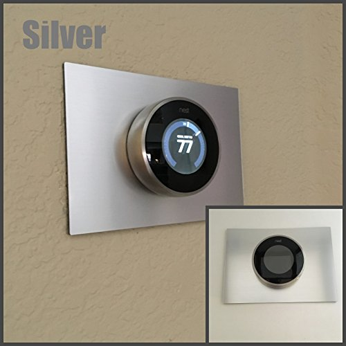 Decorative Rectangle Nest Thermostat Wall Plate (Thermostat Accessories)