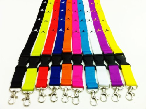 Nike Set of 5 Lanyard Keychain Holder ()