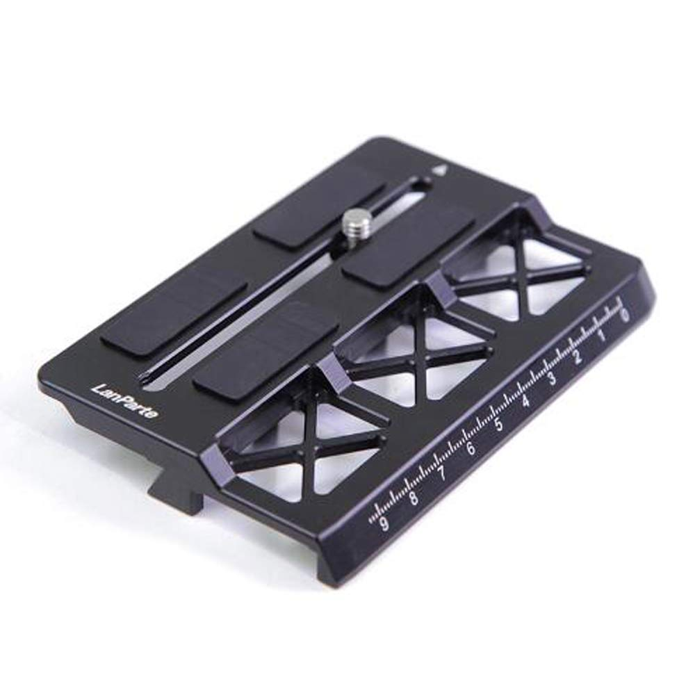 Lanparte Offset Camera Plate for DJI Ronin-S BMD BMPCC 4K Camera Extra Space by LanParte