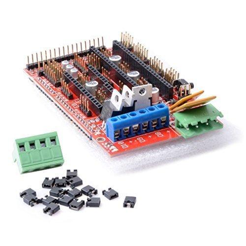 Qunqi 3D Printer Controller Board RAMPS 1.4 REPRAP MENDEL PRUSA for Arduino by Qunqi