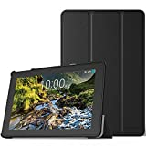 MoKo Ellipsis 10 HD Case 2017 Release - Ultra Lightweight Smart Slim Shell Stand Cover with Auto Sleep / Wake Function for 10-Inch Verizon Ellipsis 10 HD (QTAXIA1) Tablet, BLACK