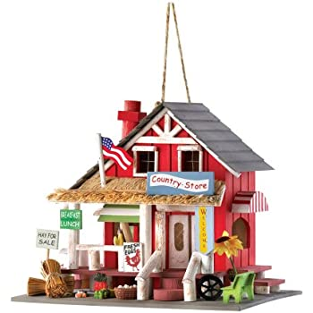Gifts U0026 Decor Rustic Old Time Country Store Wooden Bird House
