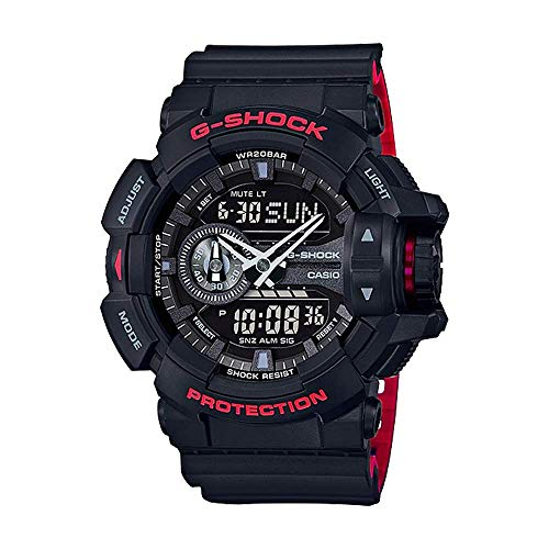 Casio G-Shock GA-400HR Black/Red Layer Series - Black for sale  Delivered anywhere in USA