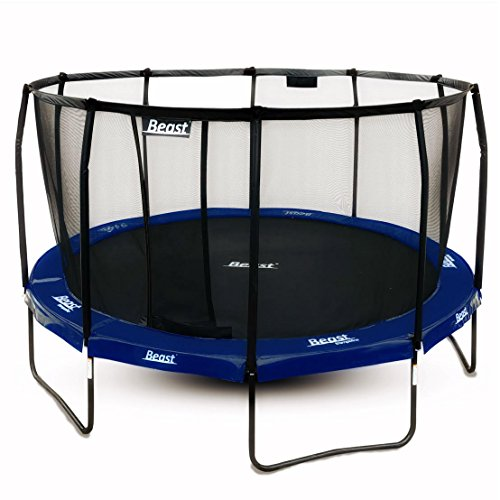 Review Beast Trampoline 15 ft Round with PREMIUM Enclosure | Heavy Duty Trampoline | NO WEIGHT LIMIT