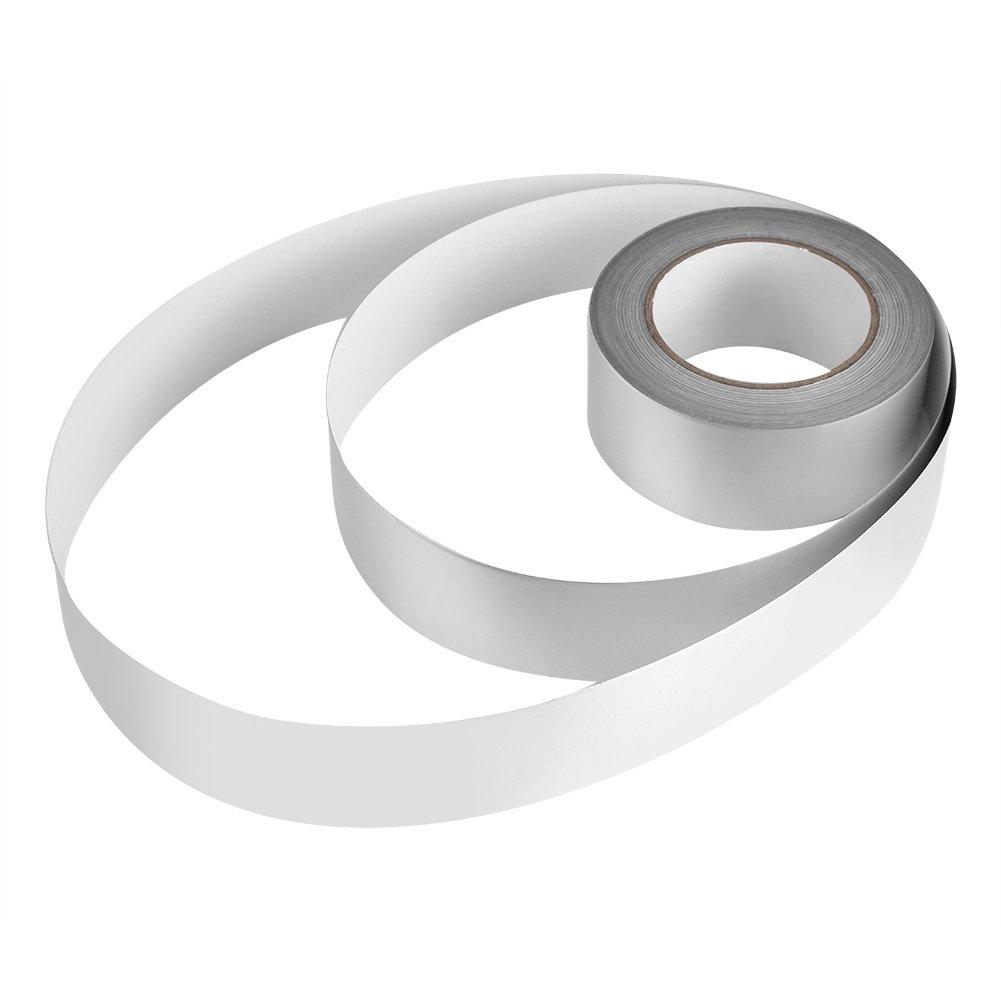 Zerodis 2'' x 164ft Silver Aluminium Foil Tape Adhesive Sealing Heat Shield Tape for Duct Metal Repair Insulation by Zerodis (Image #6)