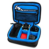 Protective EVA Portable Speaker Case (in Blue) for Canton musicbox XS - by DURAGADGET